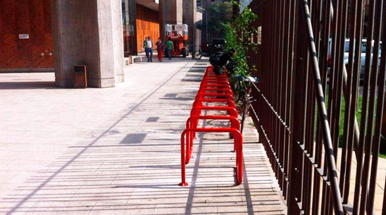 velopolis bicicletero estacionamiento de bicicletas rack gam cultura