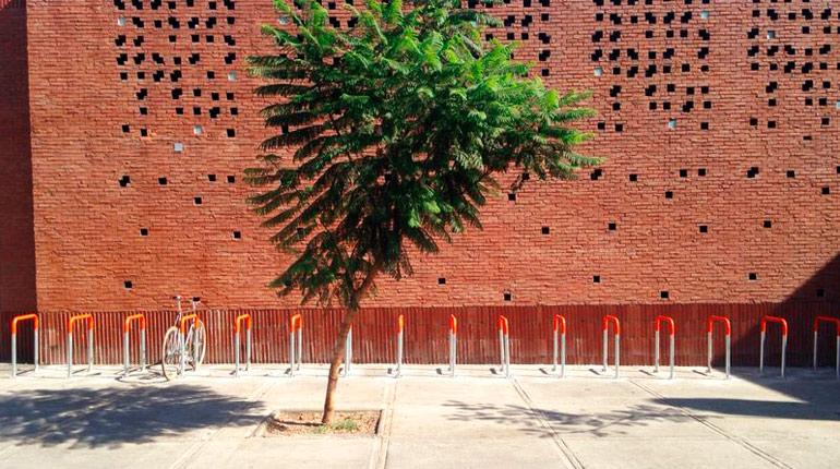 bicicletero estacionamiento de bicicleta velopolis v01 rack indepencleta