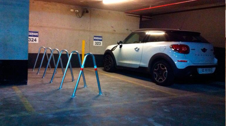velopolis modelo v02 corchete estacionamiento de bicicleta racks bicicletero