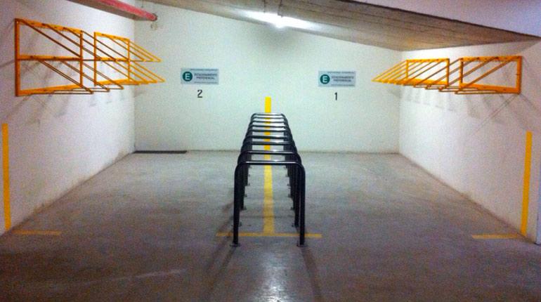 velopolis santillana bicicletero estacionamiento de bicicletas racks cicleteros