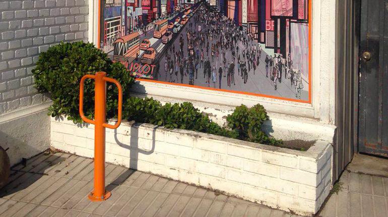 Bicicletero Poste